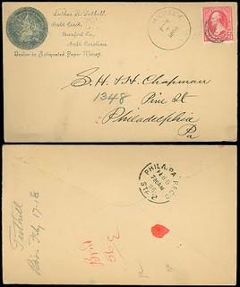 Tuthill, L. B. postcard to Chapman
