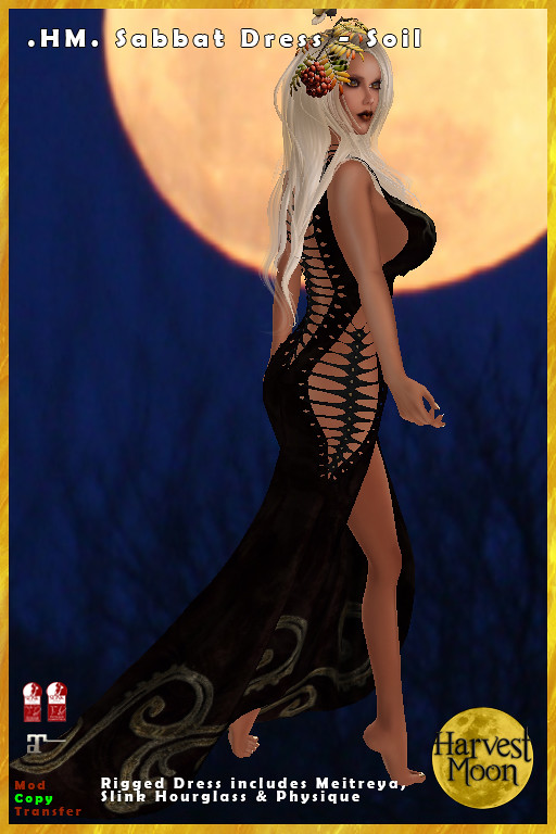 Harvest Moon – Sabbat Dress – Soil
