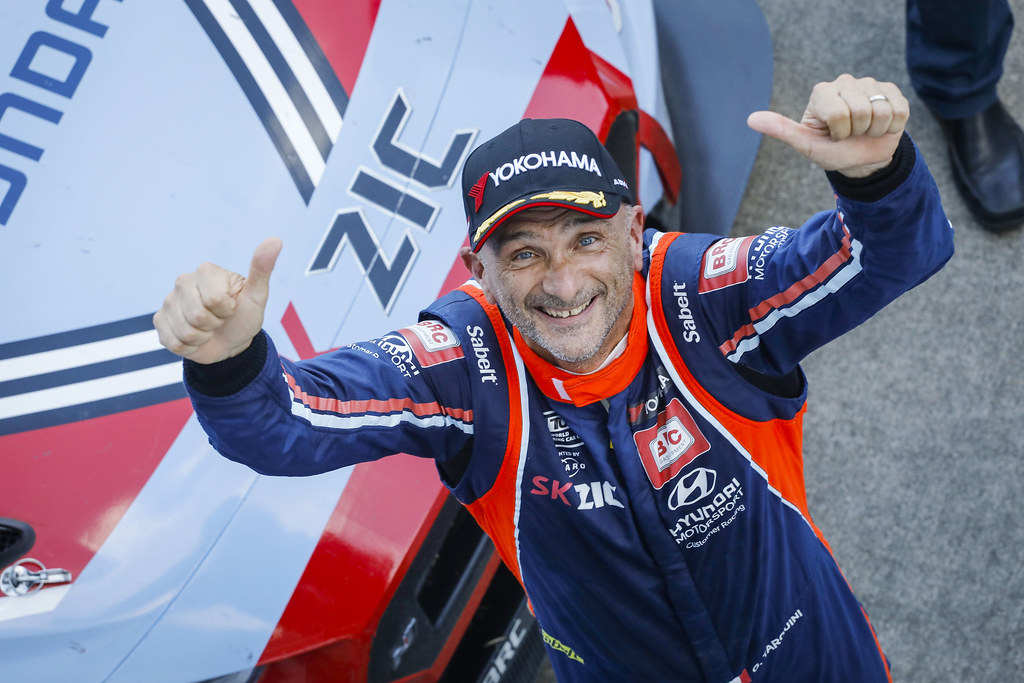 TARQUINI Gabriele, (ita), Hyundai i30 N TCR team BRC Racing, portrait during the 2018 FIA WTCR World Touring Car cup of Japan, at Suzuka from october 26 to 28 - Photo Francois Flamand / DPPI