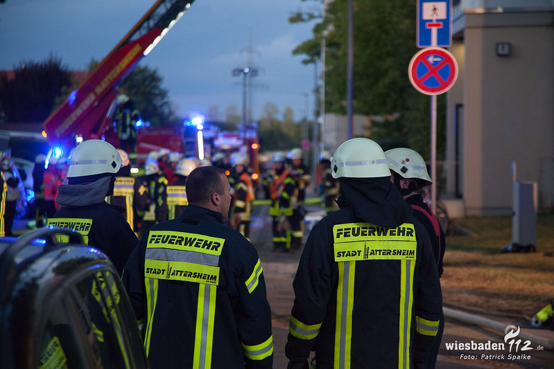 Wohnungsbrand im 6. OG in Hattersheim 24.09.18