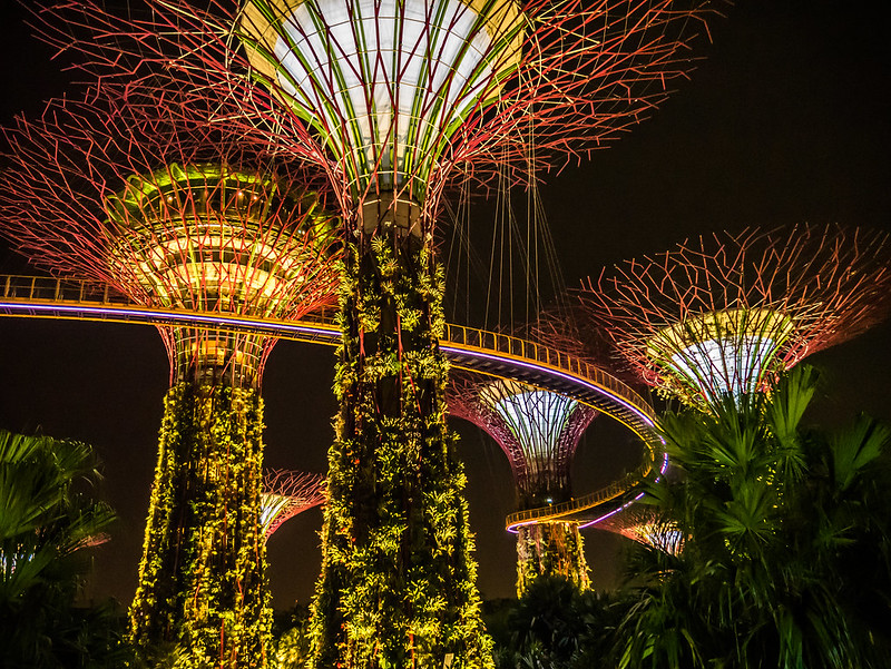 Gardens by the Bay, Singapure