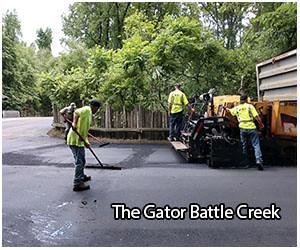 the gator damage in battle creek