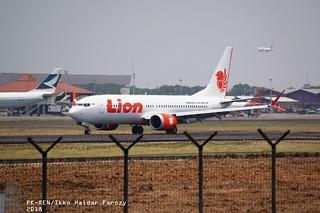 Lion Air Boeing 737-MAX8; @CGK 2018