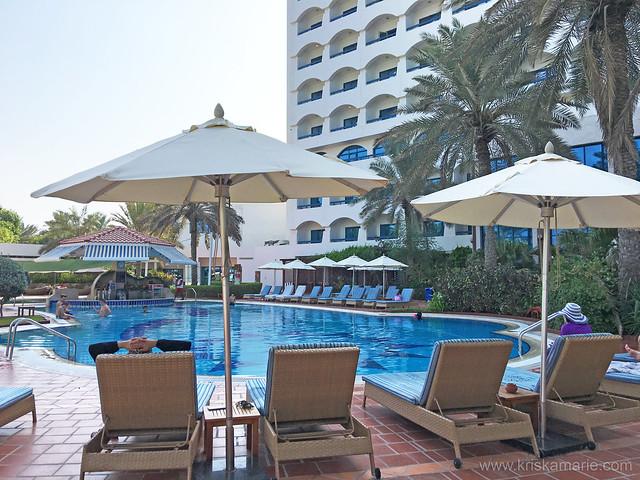 Ajman Hotel Pool Area 1