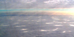 Between strange skies