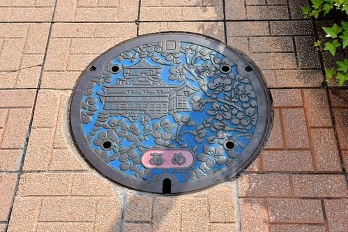 Inuyama Castle Manhole Cover