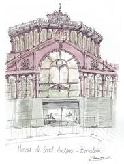 Mercat de Sant Antoni - Barcelona