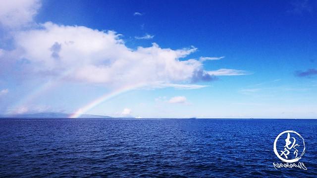 二重の虹が美しい☆