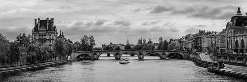 View of Pont Royal, Paris