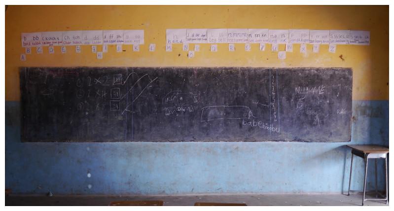 chalkboard | southern province | zambia