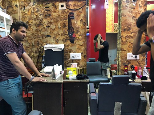 City Landmark - Wali's Hair-Cutting Saloon, Bazaar Chitli Qabar