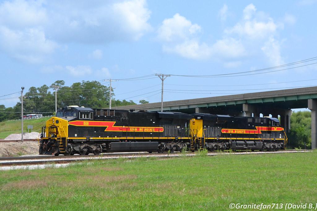 IAIS 508 GE ES44AC | Trucks, Buses, & Trains by