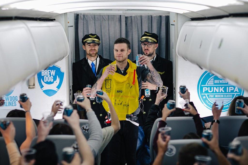 BrewDog запустит авиарейс из Лондона в Коламбус