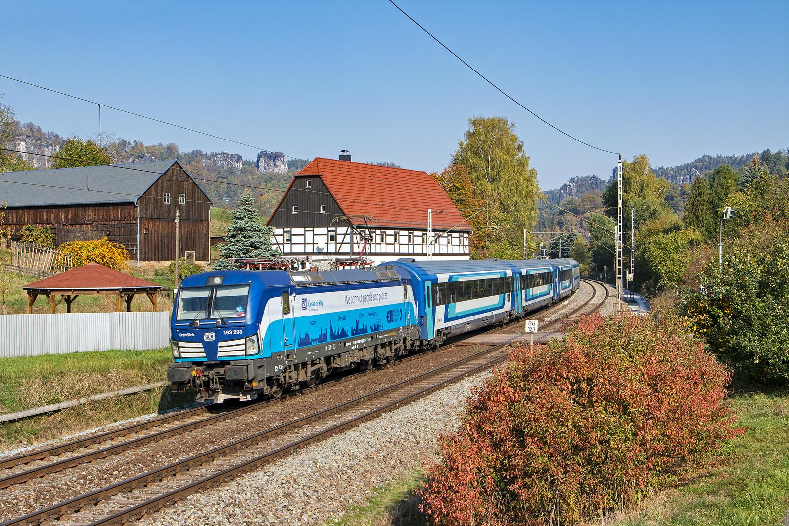 Kurort Rathen, 17 oktober 2018 | ČD 193 293