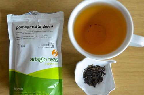 Pomegranata Green Tea