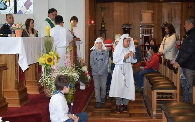Santa Misa de los 3° básicos