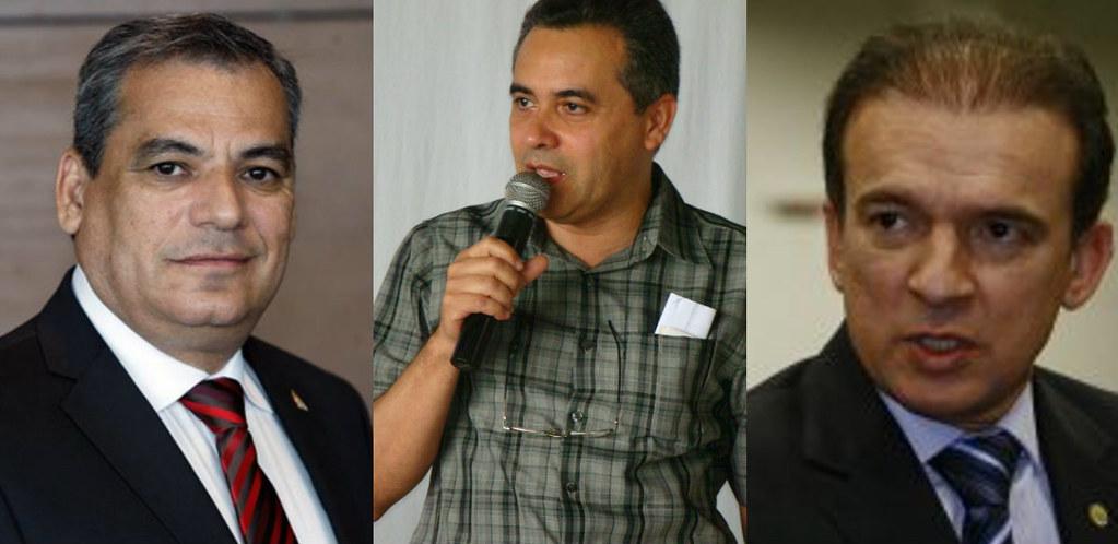 Ophir, Amoras e Parsifal comandaram a transição de governo no Pará, transição