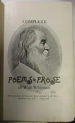 Penn Libraries 811W 1888.2: Title page