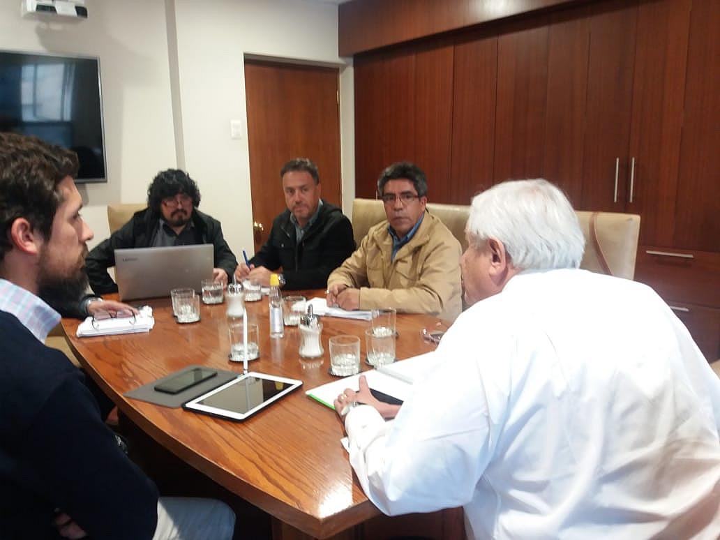 Reunión AFSAG con Director Nacional, Horacio Bórquez – 27 Septiembre 2018