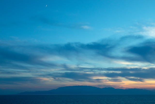 Moon over Ithaca   Crossing the Ionian Sea-18