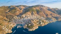 Hafen von Hydra, Griechenland