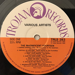 V.A.:THE MAGNIFICENT FOURTEEN(LABEL SIDE-A)