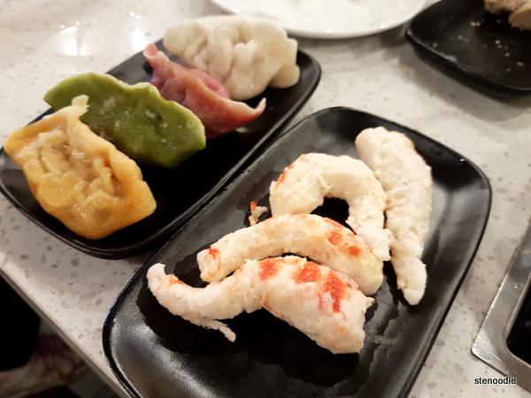 Special Season Dumpling, Veggie Shrimp