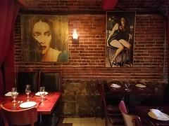 10-2-2018: Scene from an Italian restaurant. Boston, MA