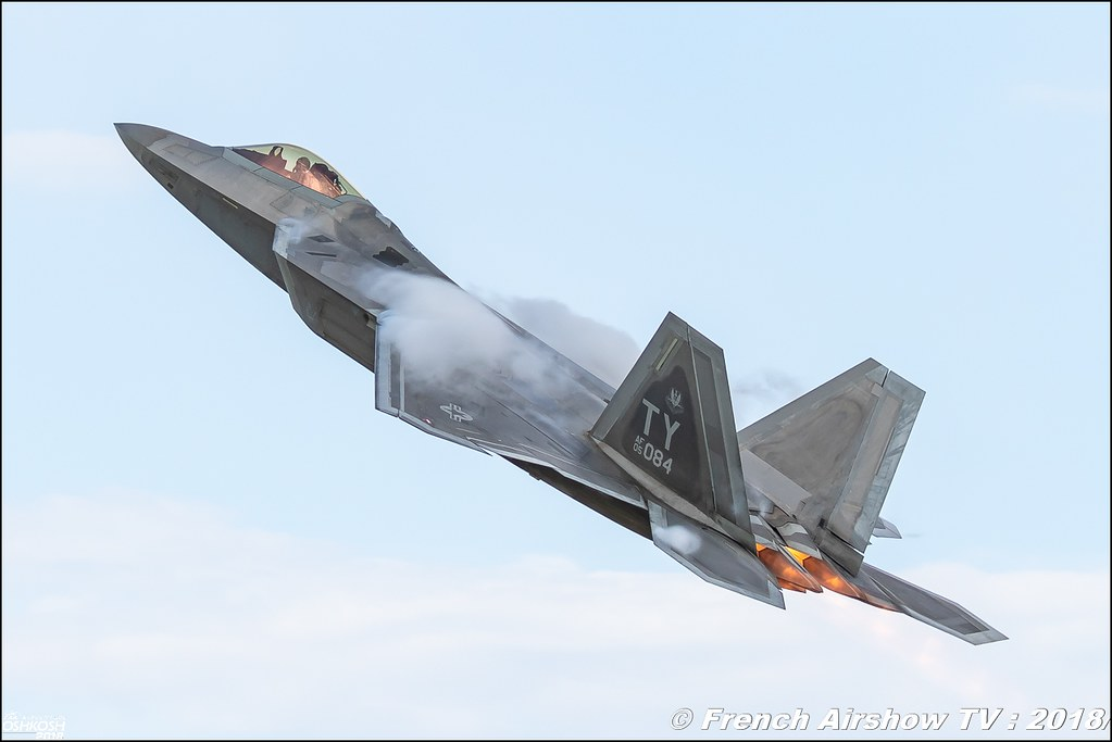 AFRC 70th Anniversary F-22 Raptor airpower EAA Oshkosh 2018