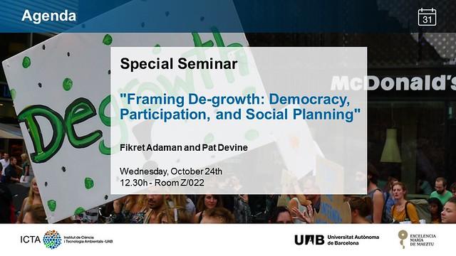 Special Seminar 24_10_2018