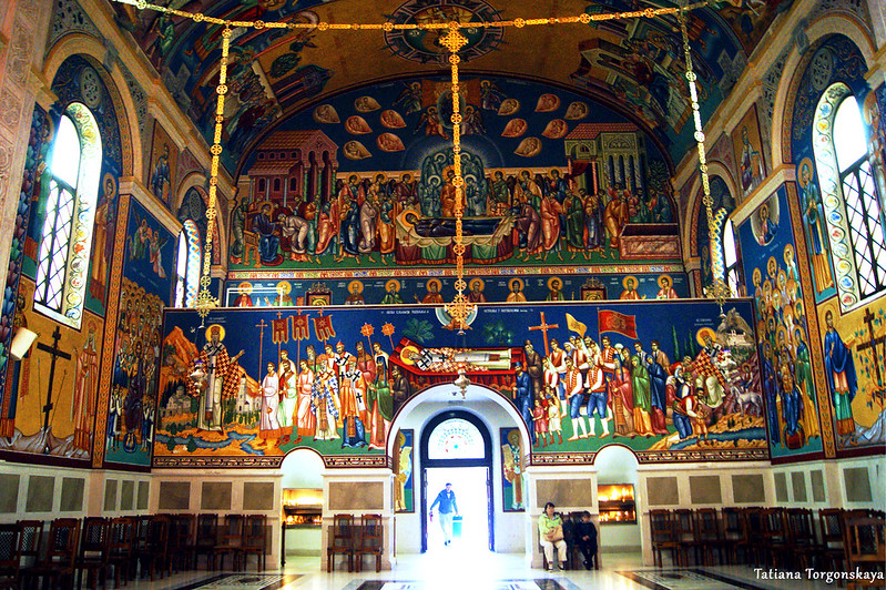 Внутри собора Св. Преображения