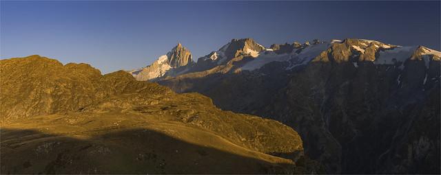 _DSC9800_01 Vue sur la Meije -  Parc national des Écrins - Hautes-Alpes / France