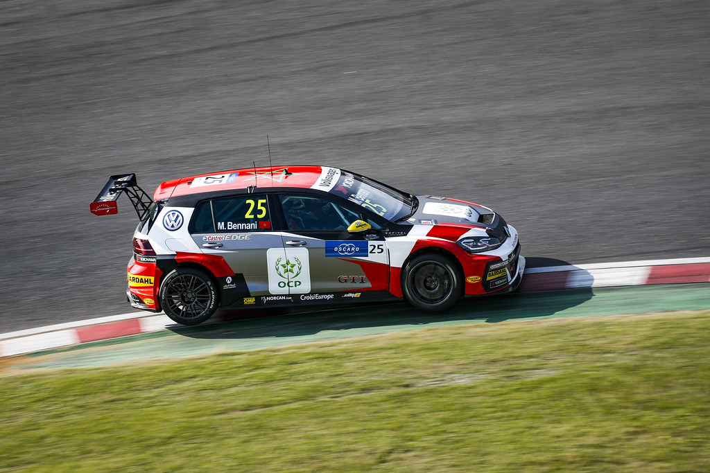 25 BENNANI Mehdi (mar), Volkswagen Golf GTI TCR team Sebastien Loeb Racing, action during the 2018 FIA WTCR World Touring Car cup of Japan, at Suzuka from october 26 to 28 - Photo Clement Marin / DPPI