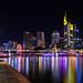 Frankfurt Skyline vom Mainufer