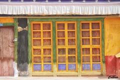 Windows -Drepung Monastery, 哲蚌寺, Tibet, China