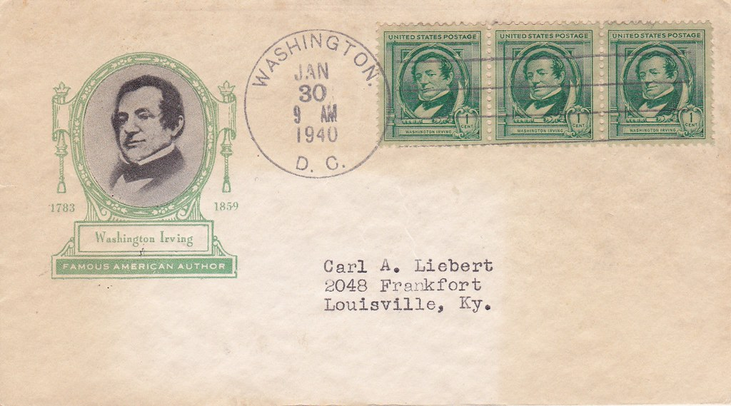 United States - Scott #859 (1940) first day covers