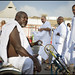 Haji with handbike, in Mina