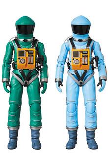 最有影響力的科幻電影!MAFEX《2001太空漫遊》太空裝(綠色/淡藍色)!マフェックス No.089-090  SPACE SUIT GREEN Ver./LIGHT BLUE Ver.