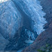 Tongue of the Salmon Glacier in the shadows as the sun rises by Alaskan Dude