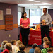 Mon, 2018/09/24 - 2:50pm - Clarington Public Library was excited to welcome Arlene Chan to the Bowmanville Branch on Monday, September 24, 2018!  We celebrated the Moon Festival with Arlene Chan, author of seven books about the history, culture, and traditions of the Chinese in Canada! This mid-autumn festival is a centuries-old celebration of the harvest, and plays an important role in Chinese culture.  We acknowledge the support of the Canada Council for the Arts, which last year invested $153 million to bring the arts to Canadians throughout the country. Nous remercions le Conseil des arts du Canada de son soutien. L'an dernier, le Conseil a investi 153 millions de dollars pour mettre de l'art dans la vie des Canadiennes et des Canadiens de tout le pays.