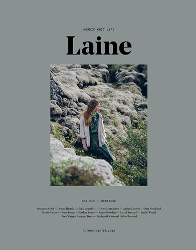 Laine Magazine, Issue 6 is scheduled to land in the shop Monday, October 1st!
