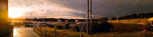 Parking Lot Panoramic...