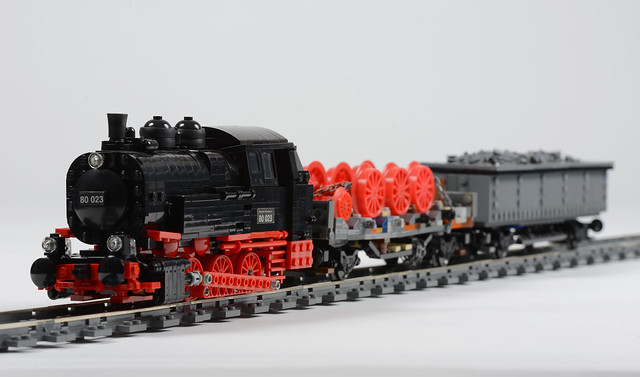 LEGO BR 80 steam engine