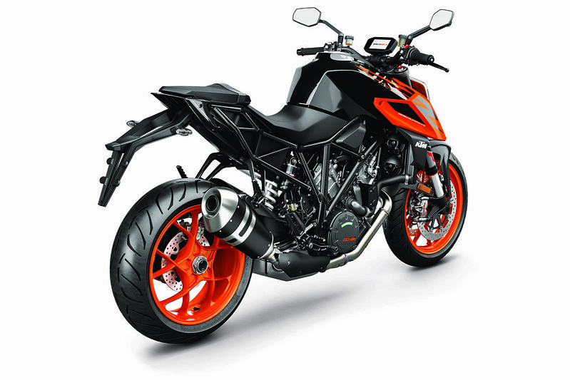 KTM 1290 SUPER DUKE R MY19 Black-Orange_