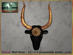Bliensen - Taurus - Wall Decor