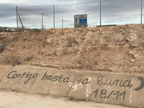 Graffiti en Pilar de la Horadada (Alicante)