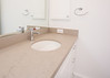Bathroom in Barclay Tan One Quartz