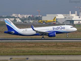 F-WWDV Airbus A320 Neo Indigo