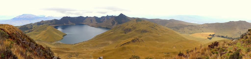 Panoramique Laguna Mojanda