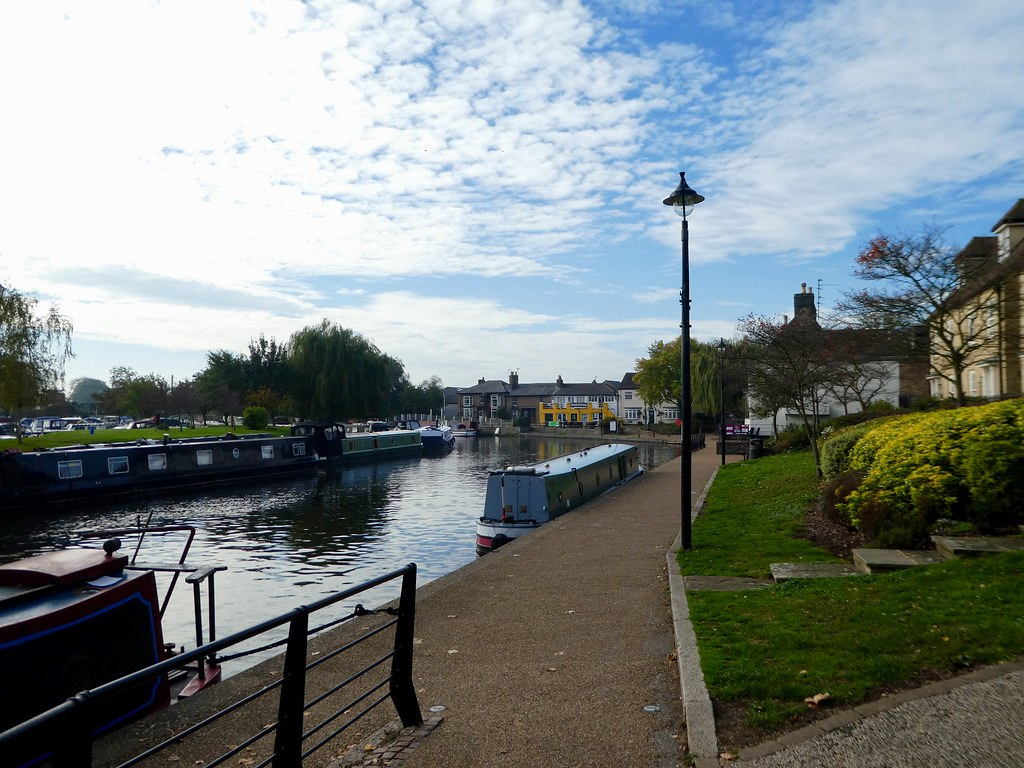 The riverside, Ely
